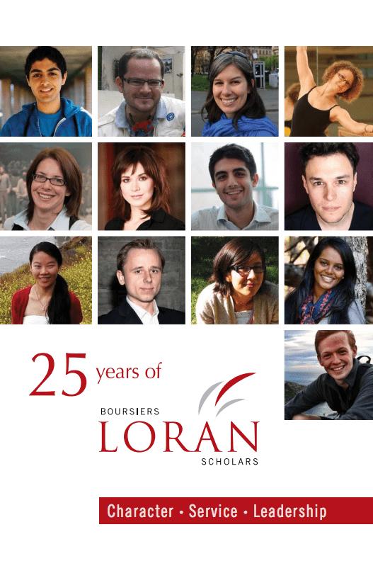 Loran Scholar 25th Anniversary prospectus