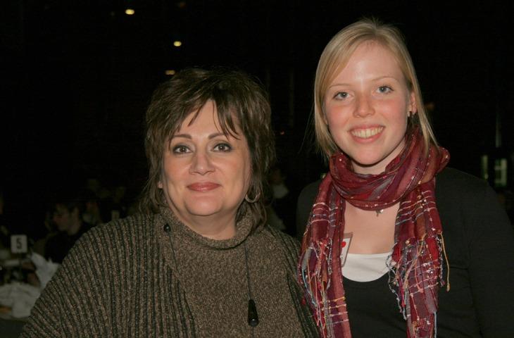 Nada Ristich and Kyla Brophy