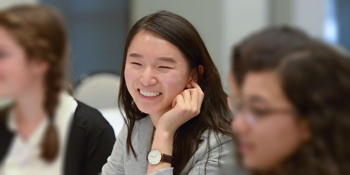 Hui Wen Zheng, Loran Scholar 2017