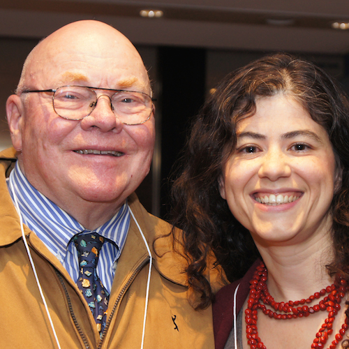 Robert Cluett, Founding CEO, and Franca Gucciardi, former CEO of the Loran Scholars Foundation