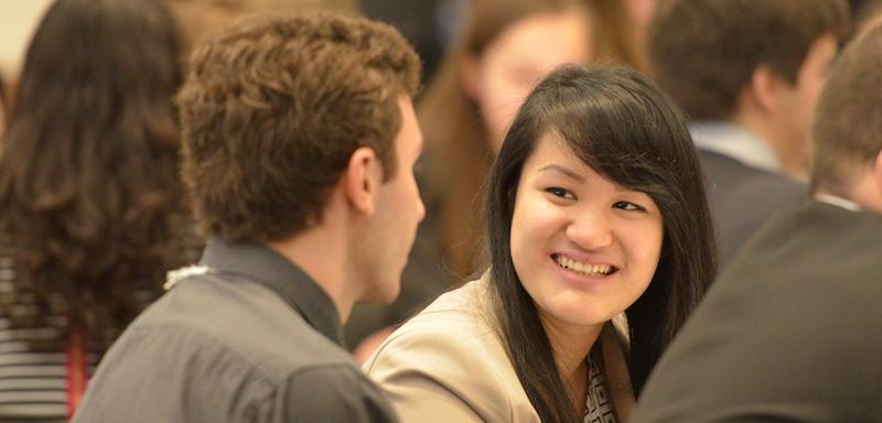 Joanne Banh a posé sa candidature à la Bourse Loran en 2014/15