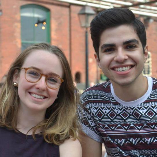 2013 Loran Scholars Sadie McInnes and Tommy Hana
