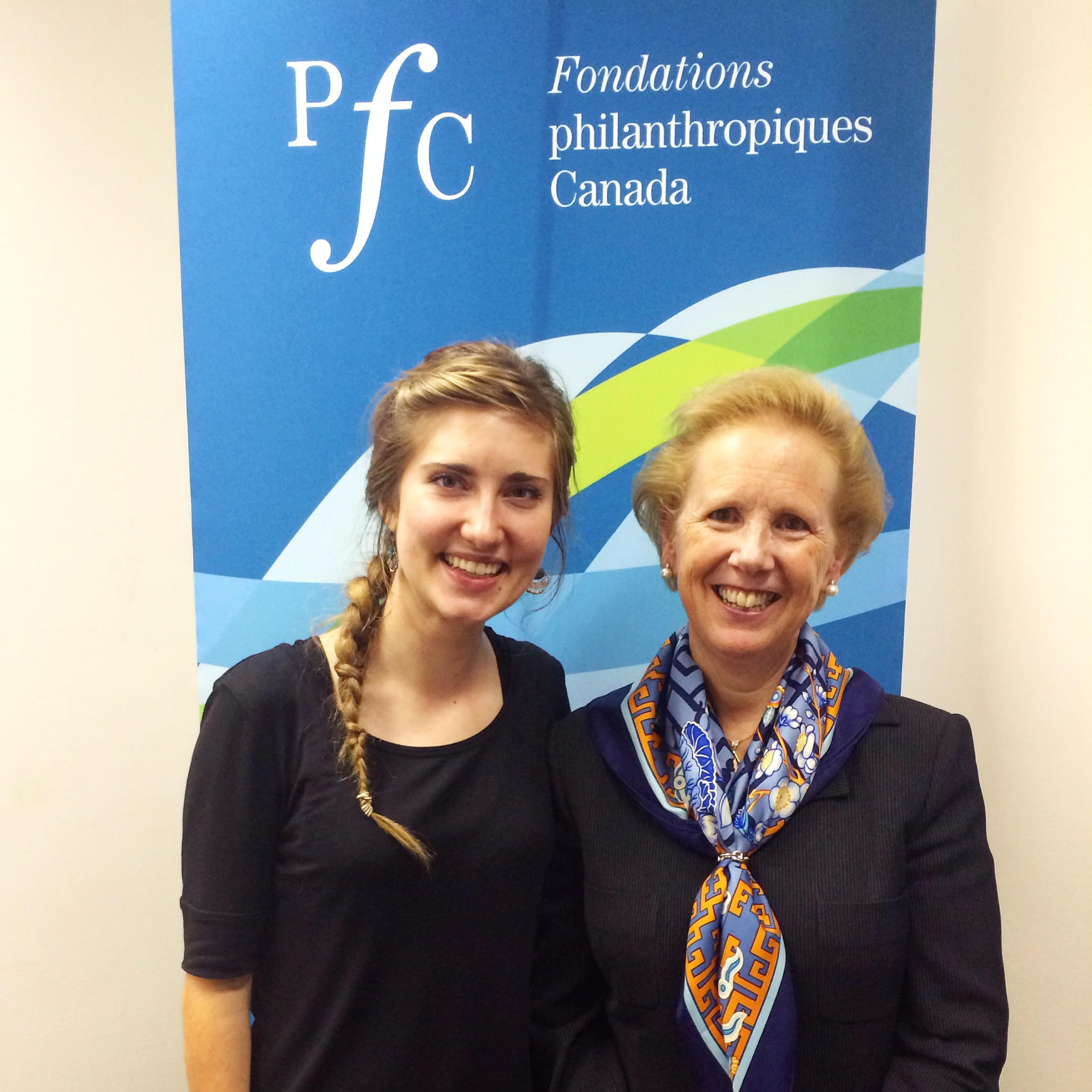 Christina Klassen and Hilary Pearson