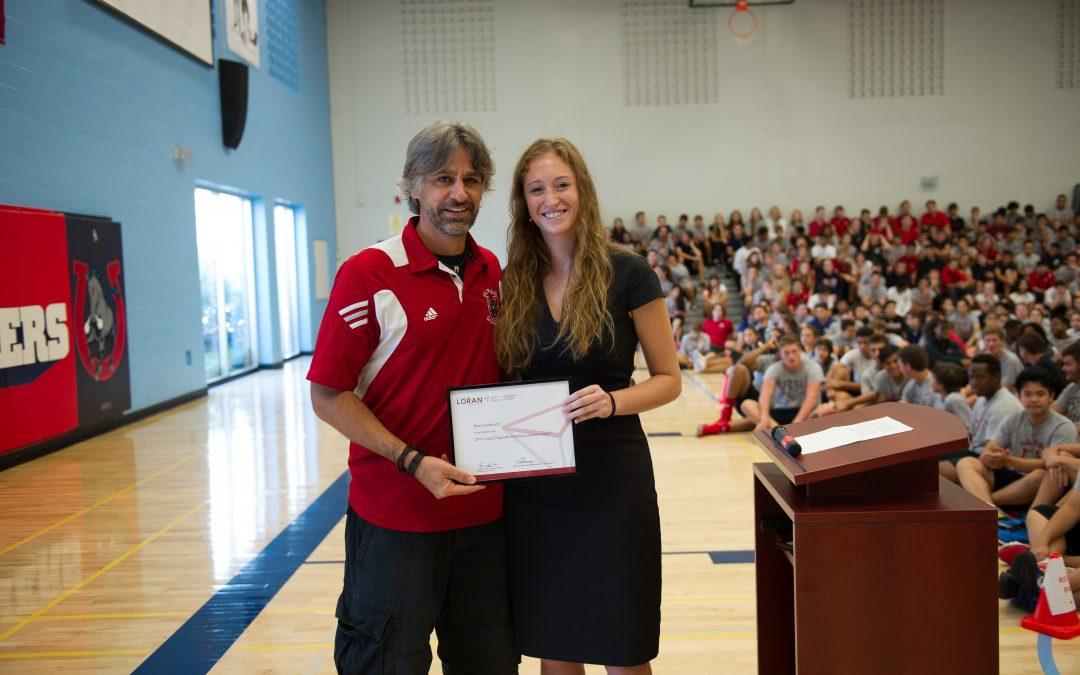 Loran Teachers Building Leaders Award: Brent Scagnetti
