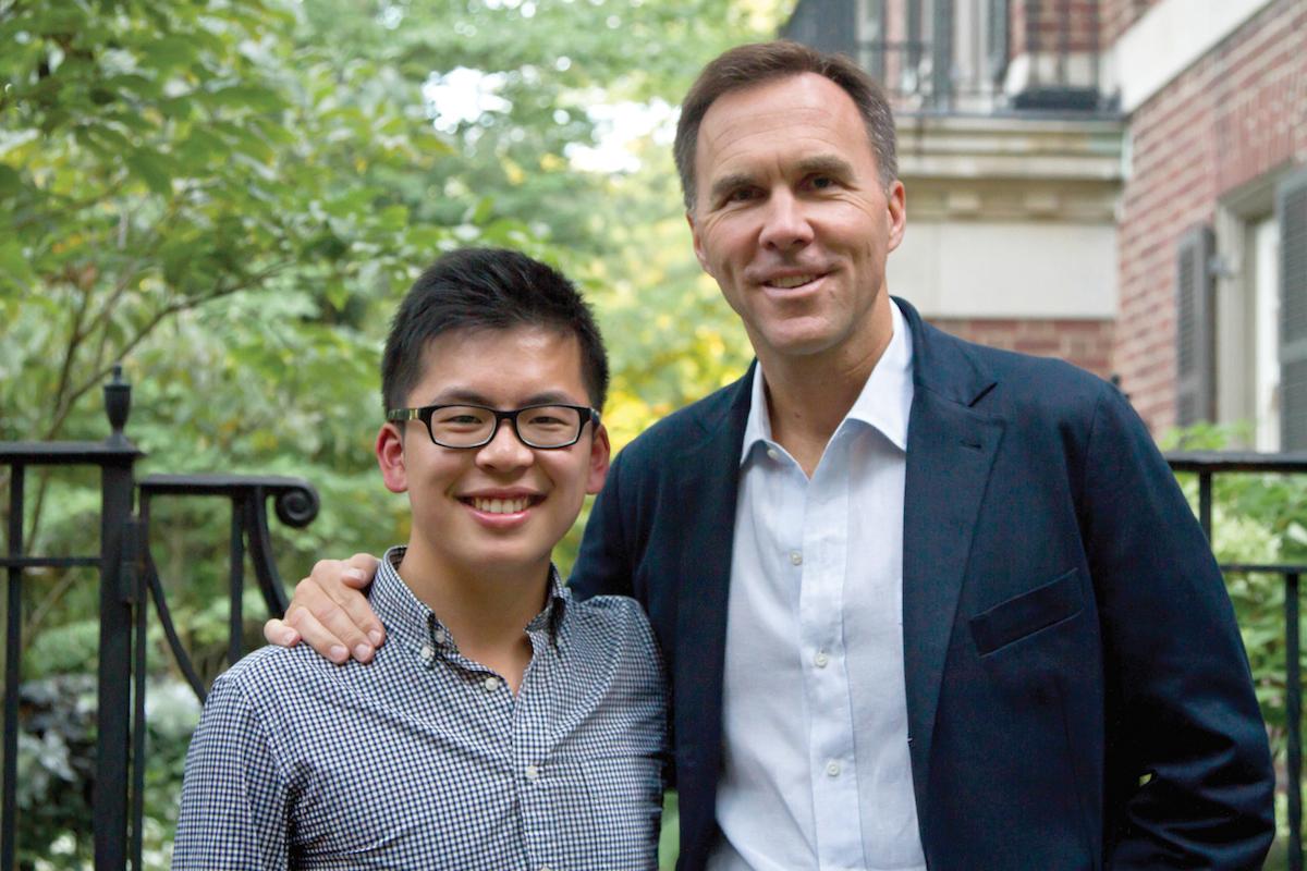 Sammy Lau and Bill Morneau