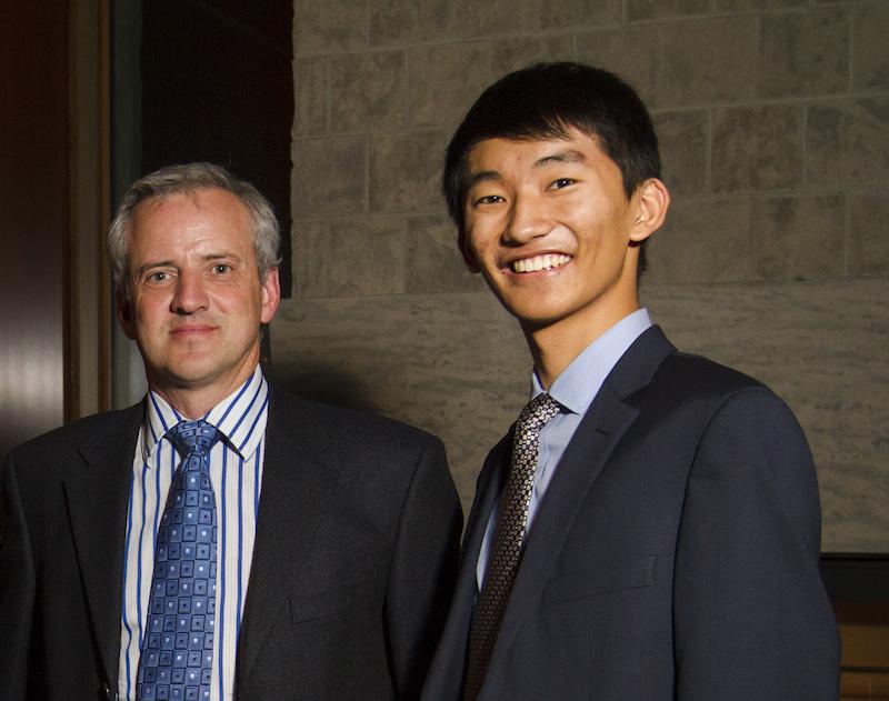 Terry Zhang and Greg Bavington