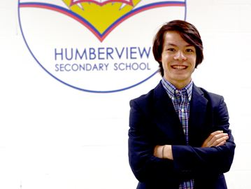 d873f68f051 Caledon Enterprise: Humberview student a finalist for prestigious Loran  Award valued at $100,000