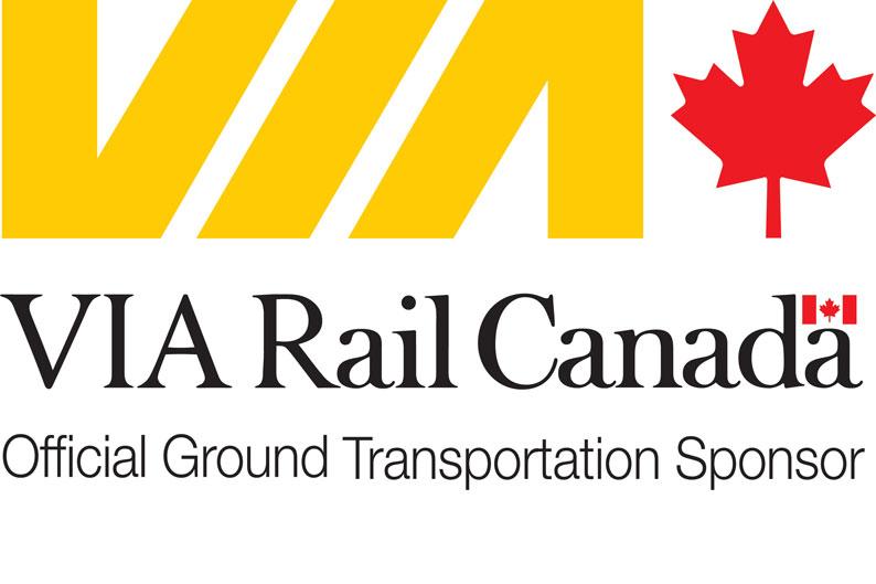 VIA Rail - Official Ground Transportation Sponsor