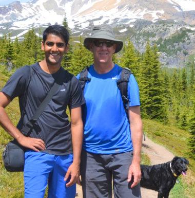 Mentorship - Kabir Nadkarni and mentor Chris Lumb