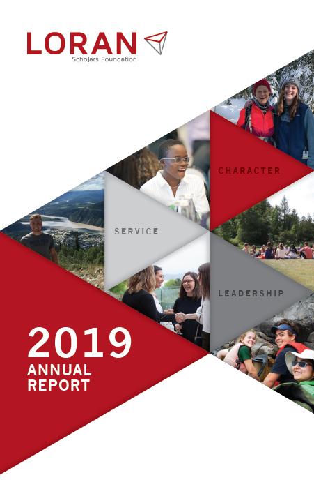 Annual Report 2019 - Loran Scholars Foundation