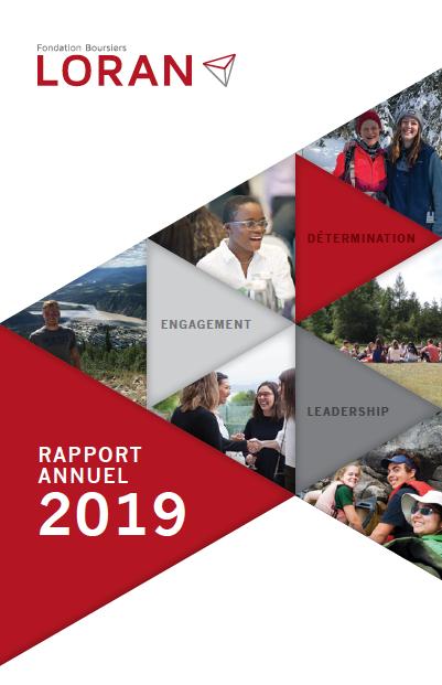 Rapport annuel 2019 - Fondation Boursiers Loran
