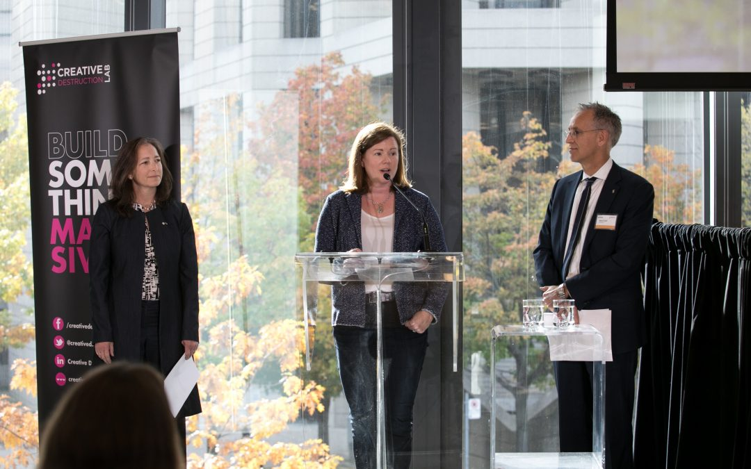 Visionaries in Science and Technology Honoured by Creative Destruction Lab